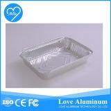 Petit récipient rectangulaire en aluminium
