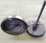 '' tipo posteriore termometro bimetallico del supporto 4