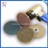 Rotella di lucidatura di nylon non tessuta abrasiva del fornitore della Cina per il trattamento di superficie del metallo dell'acciaio inossidabile