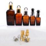 Kosmetische Flasche mit Aluminiumtropfenzähler (NBG06)