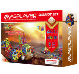 40PCS教育は子供の幼稚園児のための磁気建物のおもちゃを妨げる