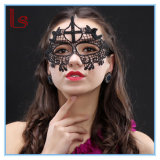 Hallowmas Sexy Black Lace mascarade partie masques