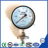 Boîtier en plastique de 100mm Jauge de pression à membrane de 2.5MPa