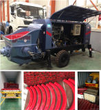 Moteur diesel/électriques de la construction de la pompe à béton/sentier bétonné la machine