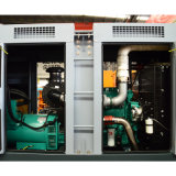 Бесшумный типа 50Гц шести цилиндров дизельных генераторных установках 250 kav Основная мощность