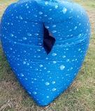 Sofa gonflable obtenu neuf d'air de sommeil de 2ème rétablissement extérieur (D205)