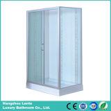 5 mm de vidrio templado de vidrio cuadrado de ducha (LTS-8266)