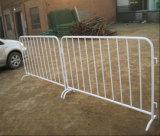 平らなフィートまたは鋼鉄歩行者の障壁が付いているトラフィックの群集整理の障壁