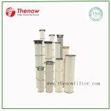 Cartucho plisado del filtro de aire de la industria del cemento, bolso del filtro en lugar de otro