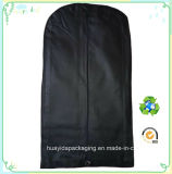 Sacchetti non tessuti neri della prova della polvere del vestito dell'abito dell'indumento di Eco pp