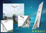 réverbère solaire Integrated de 30W DEL avec l'éclairage de détecteur de mouvement