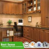 A cozinha estratificada projeta a posição livre no estilo moderno