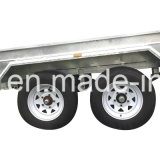 Completamente Welded Tandem Box Trailer con Cage