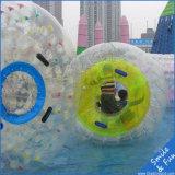 Esfera de rolo de passeio personalizada da água inflável para esportes de água