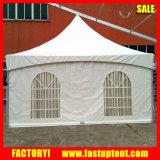 6m 알루미늄 사각 또는 12m 육각형 작은 뾰족탑 결혼식 천막