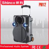 """Shinco 12 """"専門のBluetoothのトロリーカラオケのスピーカー"""