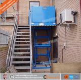levages hydrauliques de fauteuil roulant 6m vertical de 4m pour les handicapés