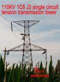 Megatro 110kv 1c6 J3 sceglie la torretta della trasmissione di tensionamento del circuito