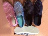 Ботинки холстины повелительницы Способа, ботинки женщин вскользь. 18900pairs, только USD1/Pairs