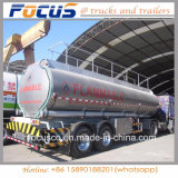 Tapa china petrolero de aluminio del acoplado de 42000 galones para la salida ligera del gasoil