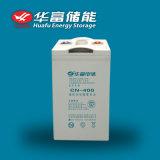 2V 400Ah Almacenamiento Solar de batería de plomo ácido libre de mantenimiento