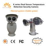 Взрывозащищенный определение температуры тепловой обработки изображений камеры PTZ