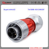 Metallo IP67 Connector/Metal Palo Connectors/Shield Metal Connector con 3pin