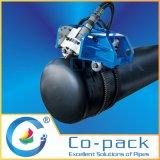 自動軽量管の切断および斜角が付く機械
