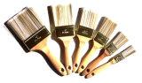 Щетка ручки щетки краски радиатора длинняя деревянная с белой щетинкой