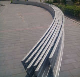 Hoja de cubierta de aluminio de costura derecha