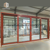 Revestido de aluminio de tamaño personalizado de deslizamiento de la ventana de madera maciza de madera, aluminio correderas ventana por ventana de aluminio de madera Empresa