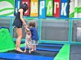 Selon les tailles réelles Trampoline Conception du parc