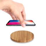 Várias formas de madeira Qi Carregador Sem Fio para iPhone 7/7plus