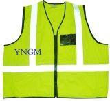 Hete Verkoop En20471 & ANSI Hoge Klasse 2 van het Zicht het Weerspiegelende Vest van de Veiligheid