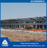 Дешевое здание сарая пакгауза стальной структуры агрегата
