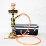 Narghilé elettronico di vetro di Shisha del vaporizzatore della sigaretta della sigaretta del tubo di acqua del narghilé della bottiglia di vetro della E-Sigaretta stabilita materiale in lega di zinco di Shisha