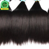 Produtos de cabelo Aofa Brasileiro Reta Remy de cabelo humano da trama