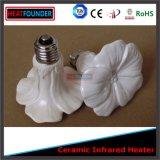 Mini tipo calentador infrarrojo de cerámica de la flor de la luz del calentador para el animal doméstico