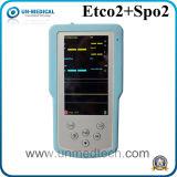 Video tenuto in mano Etco2 per uso veterinario