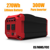 beweglicher Generator-Lithium-Batterie-Sonnenenergie-Bank-Generator der Sonnenenergie-300W