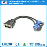 DMS 59 DVI 59pin aan VGA Mannetje aan Vrouwelijke Kabel Splittler