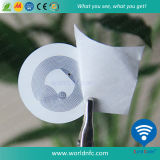 Custom клей на наклейке перезаписываемый RFID малых NFC Tag