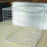 Manufatura profissional soldada da caixa de Gabion do engranzamento de fio com rodas