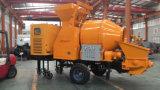 Pompe concrète de 30 M3/Hour avec le travail du mélangeur 450L avec le générateur diesel