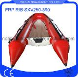 Sxv230-390 il guscio della vetroresina V gonfiabile Recuse la barca
