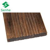 Revestimento de bambu ao ar livre do parquet com bambu tecido costa