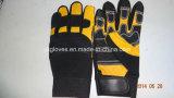 La Gant-Sûreté de mécanicien Gant-Industrielle Gant-Travaillent Gant-Fonctionnent le gant
