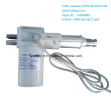 Commutation e Gear senza spazzola Motor Type Linear Actuator