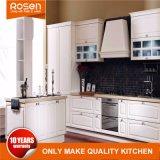 Het aangepaste Witte Meubilair Van uitstekende kwaliteit van de Keukenkasten van de Lak Houten