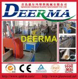 máquina del tubo del PVC de 75-160m m con precio
